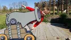 Le Trésor de Léonard - Parcours d'énigmes pour enfants à la Tour-Forteresse du Château de Montho