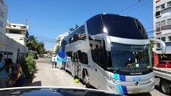 Transporte de ônibus