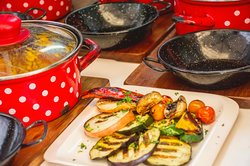 All of the authentic Dalmatian dishes are served in casserole