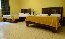 Hotel Charco Verde ligt aan de oevers van het Meer van Nicaragua ... een unieke locatie !!