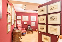 Antique map's & Etchings Sales room