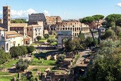 Forum Romano e Colosseo Roma