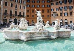 Fontana di Nettuno, Piazza Navona, Roma