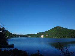 Harunako Onsen Lake side Yusuge