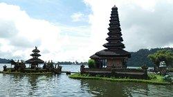 Bali temple on the lake