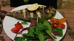 Grilled Gilded Bream
