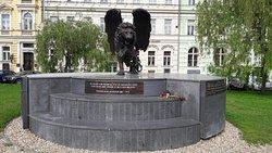 Pamatnik Ceskoslovenskym Letcum Raf