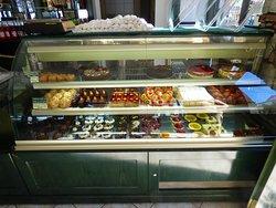 a small selection of the goodies at Tsalikis
