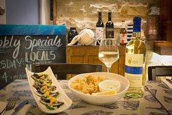 Sardinia Italian inspired seafood