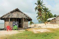 Cabaña sobre la playa