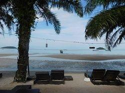 Schöne Strandlage