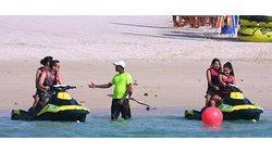 We offer Jet ski excursion where you can visit Burj Al Arab and Palm Atlantis
