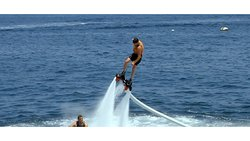 Fly board DOESN'T require swimming