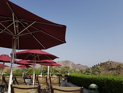 A little oasis in the mountains of Hatta