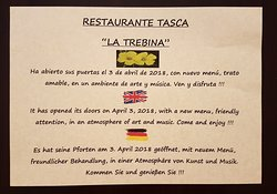 Restaurante Tasca La Trebina (antigua Tasquita de Nino)