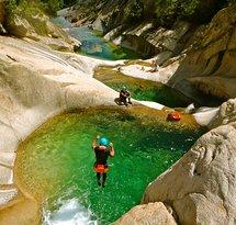 Aravis canyoning