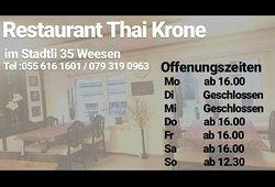 Restaurant Thai Krone