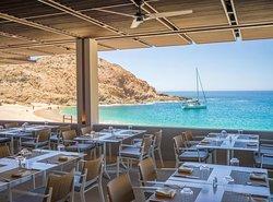 Marea restaurant lunch view
