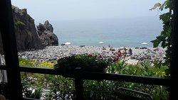 Hyggeligt sted på stranden
