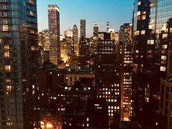 Rooftop uitzicht.