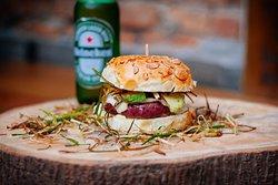 Veggie Raw Burger N Bar