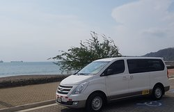 Another of our private vans for private transfers to Puntarenas Costa Rica