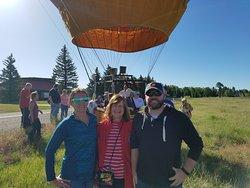 First balloon ride