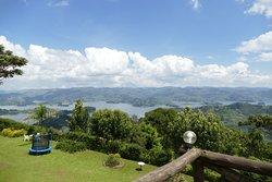Stunning Views of Lake Bunyonyi.