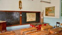 Aula escuela de niños