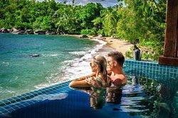 Private plunge pool villa