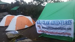Machame route 7 days camp 1