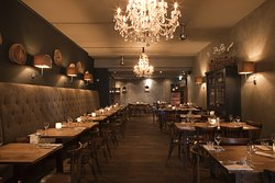 Restaurant Humphrey's Amsterdam interieur