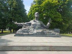 Sergey Yesenin Monument
