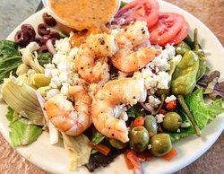 Greek Salad, Add Shrimp