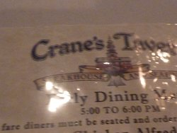 Cranes Tavern & Steakhouse