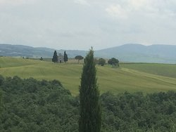 Excellent day in Val D'orcia!