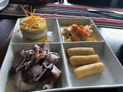 Excelente comida Peruana!!
