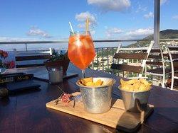 aperitivo on the terrace