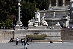 FOUNTAIN OF THE GODDESS ROME
