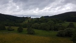 View from Drumin Castle