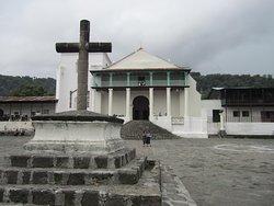 Iglesia de Santiago Atitlán construida en 1547 / Santiago Atitlan catholic curch built in 1547