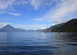 Beatiful lake Atitlan