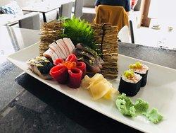 Espetáculo de sushi