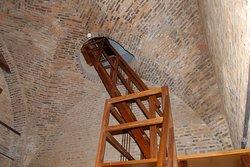 Accesso alle campane di una torre