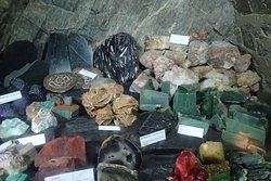 Sammlung verschiedener Mineralien