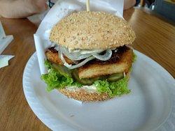 Burger z dorszem