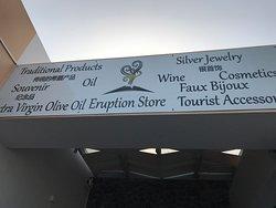 Eruption Store Santorini