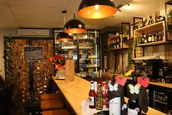 Wide selection of wines and beverages