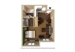 Deluxe Studio - 1 King Bed