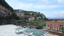 Rooftop sun lounge